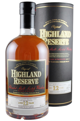 Highland Reserve Scotch Whiskey 12 Years Old